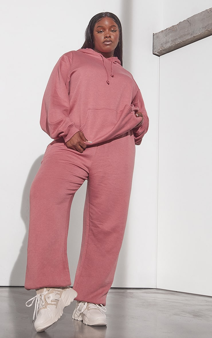 RENEW Plus Washed Red Oversized Hoodie 3