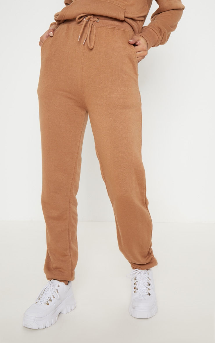 Taupe Sweat Cuff Jogger 2