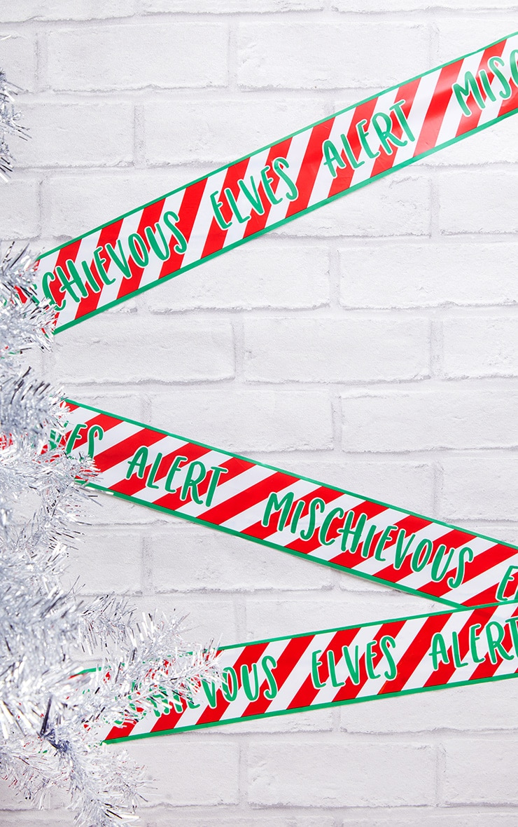 Ginger Ray Elf Caution Tape 1