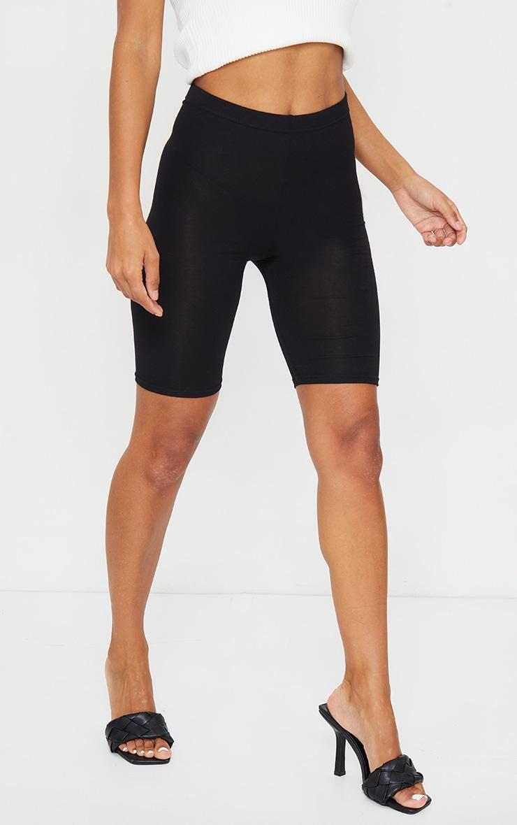 Short cycliste basique noir 2