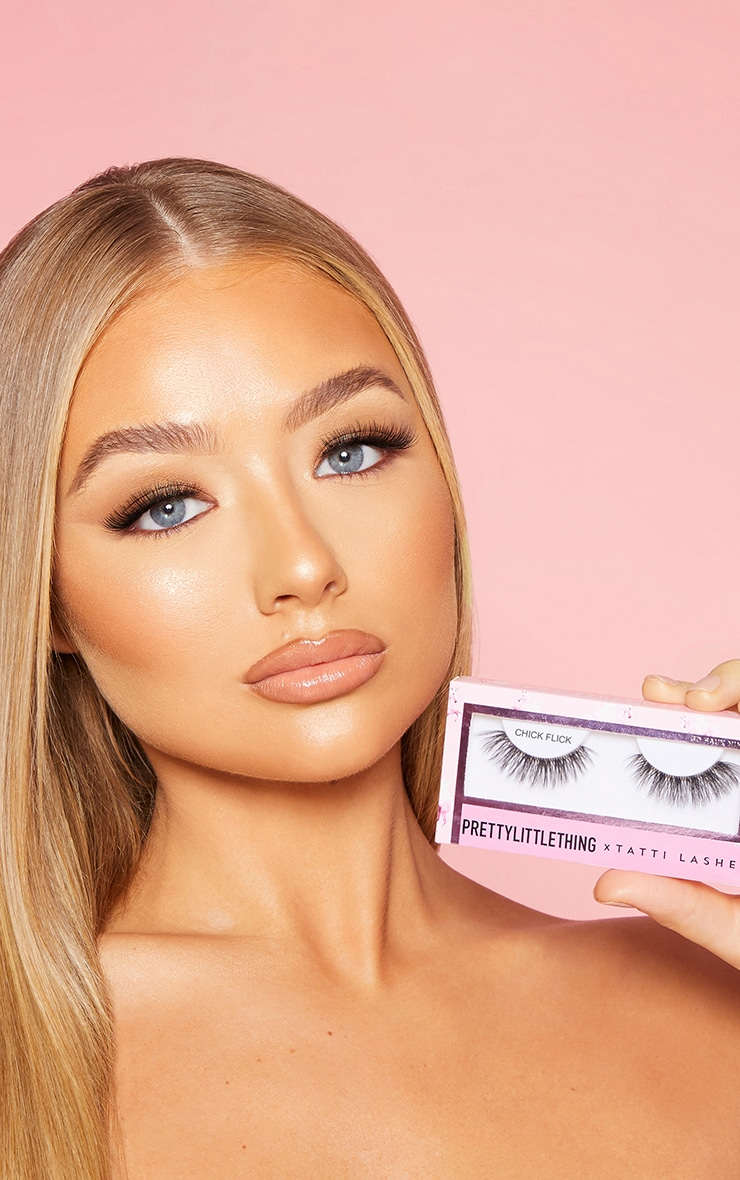 PRETTYLITTLETHING X Tatti Lashes Chick Flick 3