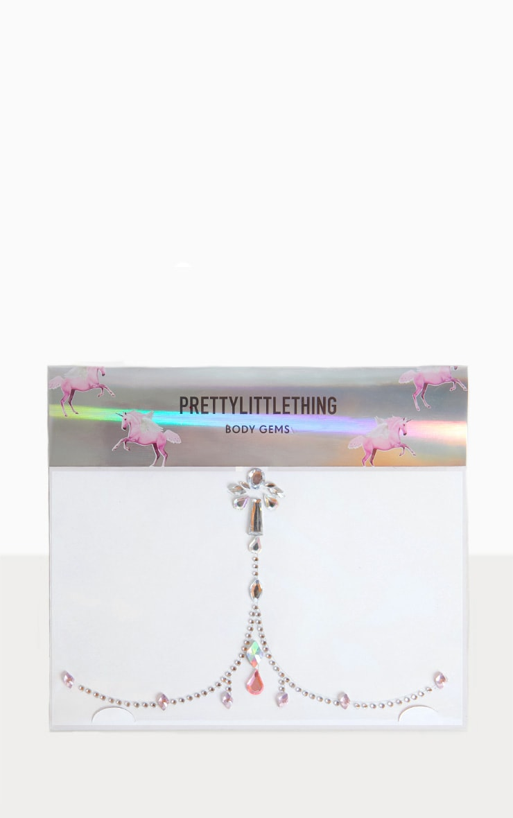 PRETTYLITTLETHING Body Chain Jewels  1