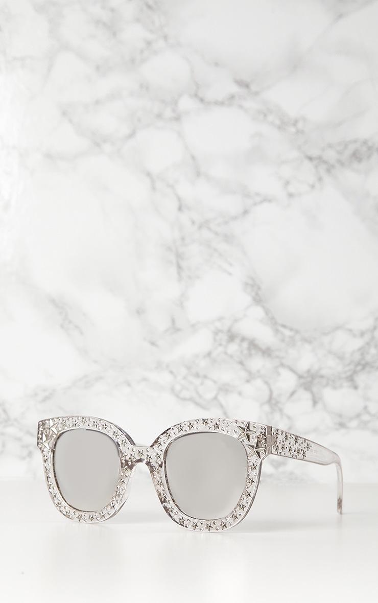 White Star Stud Sunglasses 2