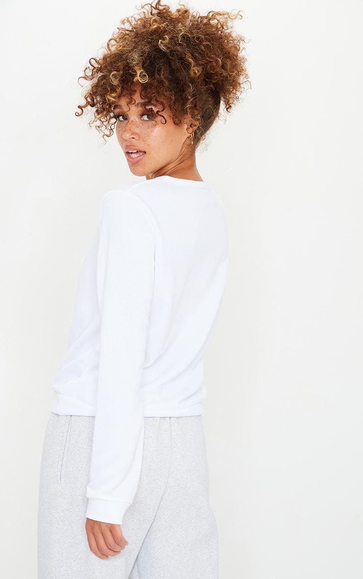 Basic White Sweater 2