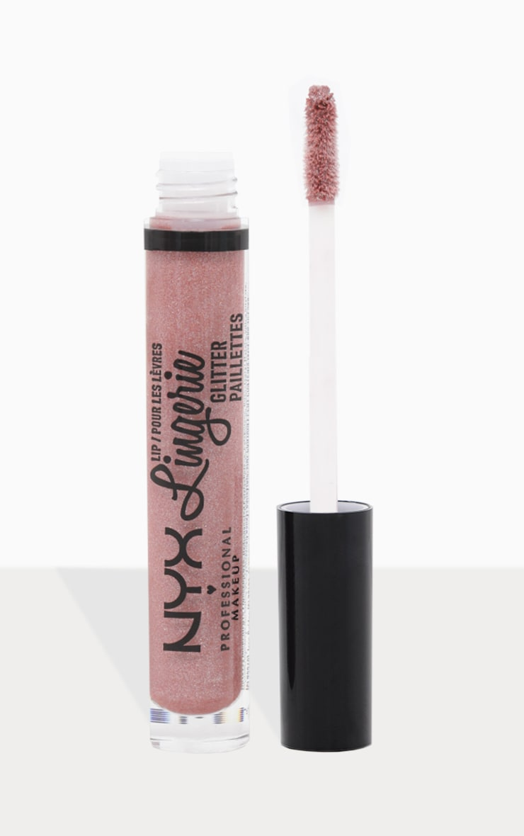 NYX Professional Makeup Lip Lingerie Glitter Honeymoon 1