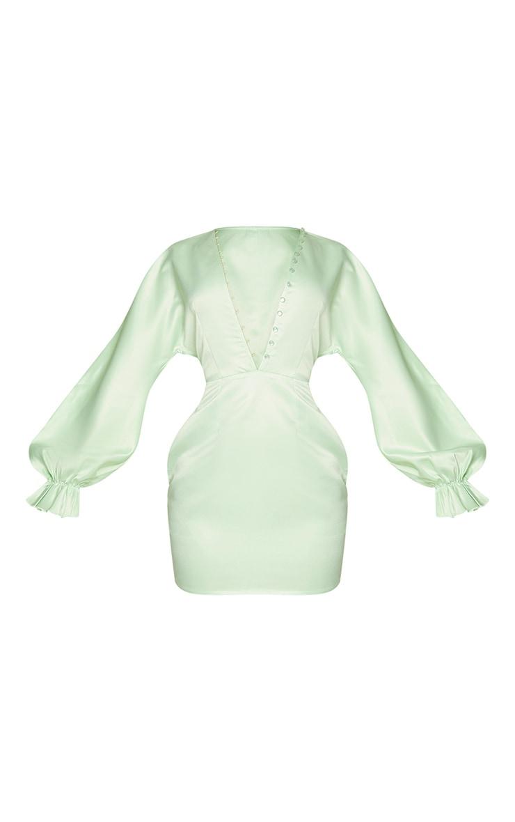 + Sommeil Robe Postes Spéciaux + Blanc//vert citron + Taille S + manches longues MAISON-