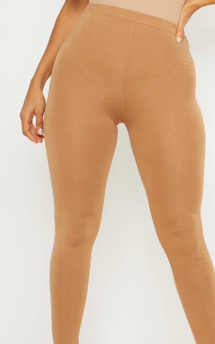 Basic Camel Jersey Legging  5
