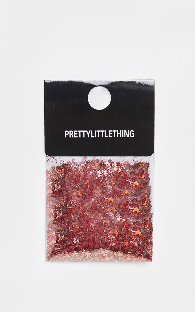 PRETTYLITTLETHING Chunky Copper Glitter 2
