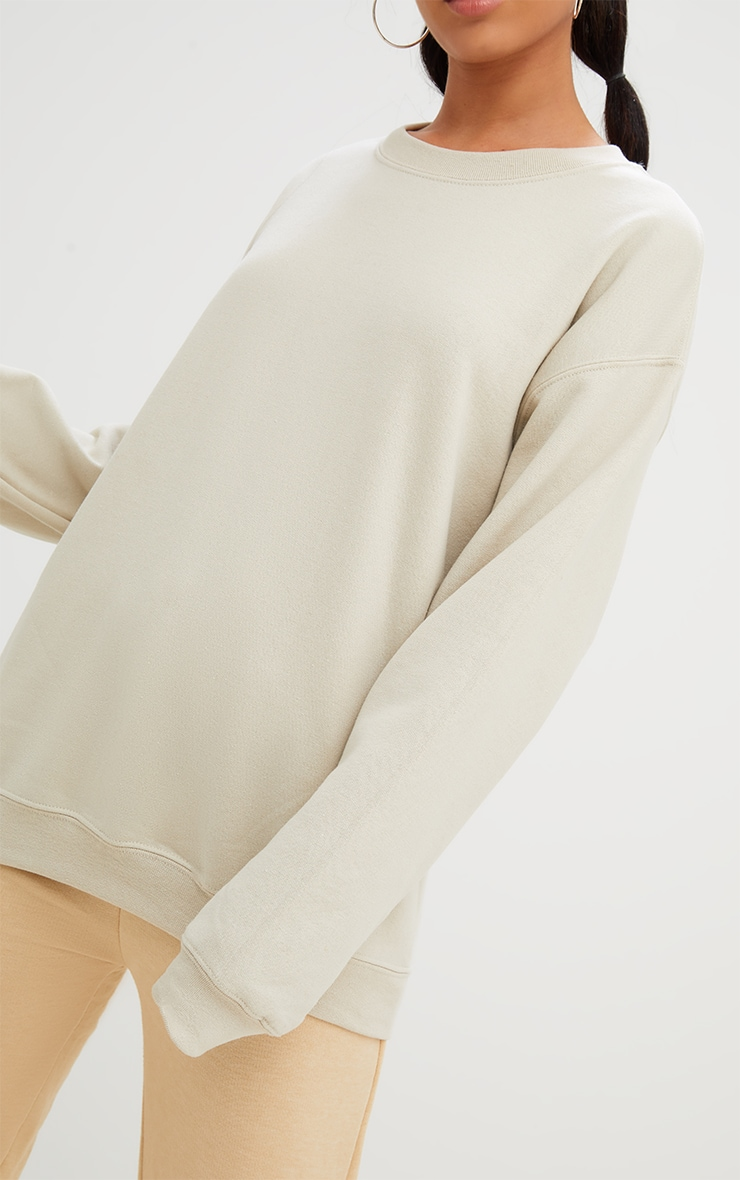 Sand Ultimate Oversized Sweater 3