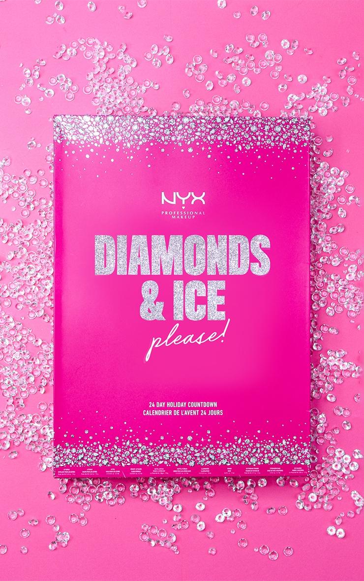 NYX PMU Diamonds & Ice Please 24 Day Advent Calendar Festive Countdown 1