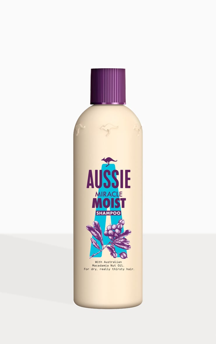 Aussie Miracle Moist Shampoo 300ml 2