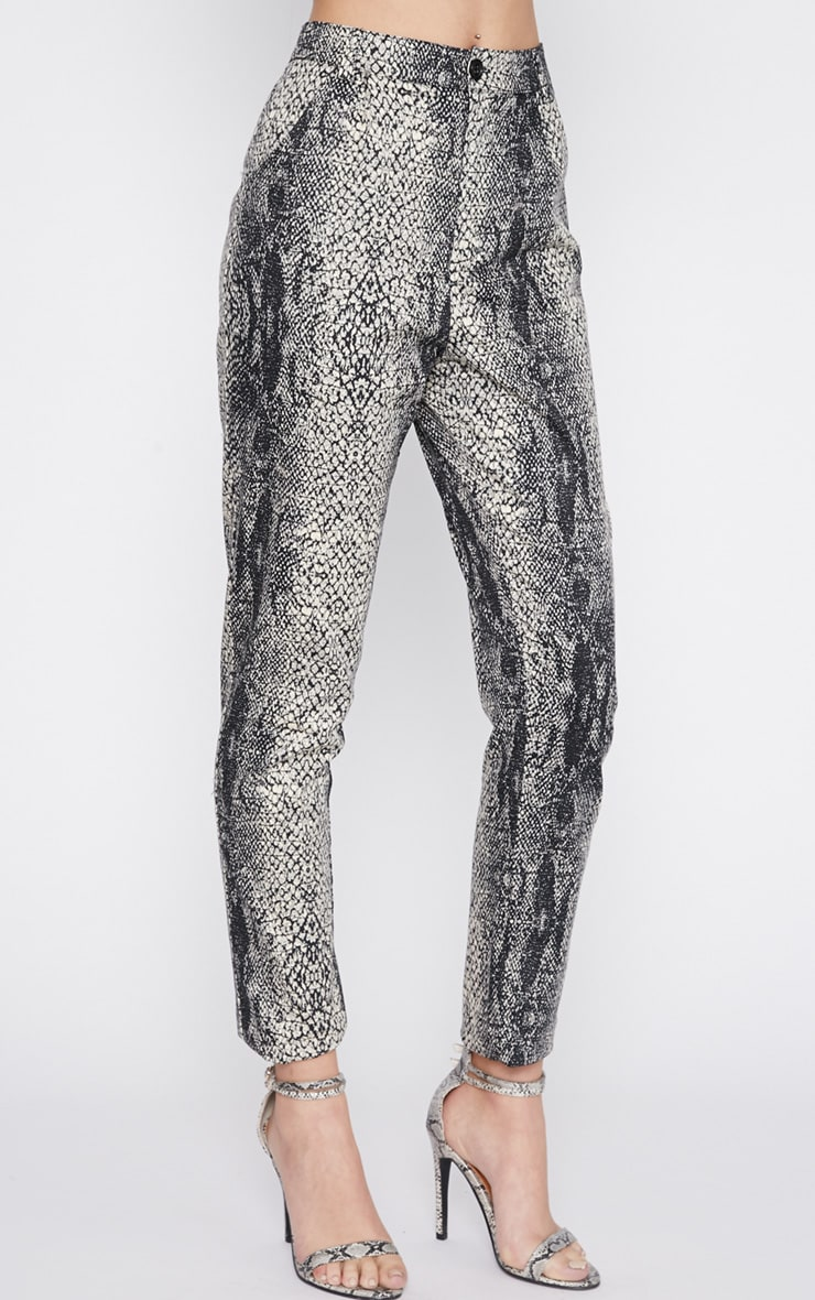 Karni Snake Print Trouser  4