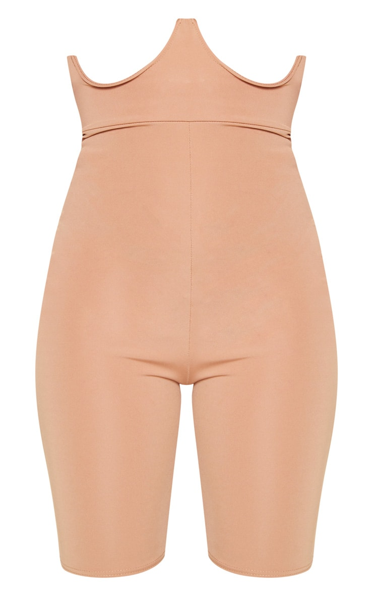 Camel High Stretch Bustier Cycle Short 3
