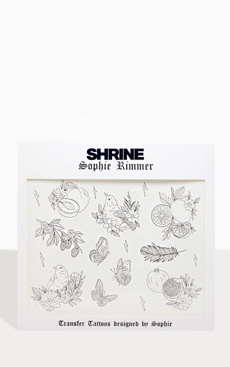 Shrine x Sophie Rimmer Birds Temporary Tattoos 1