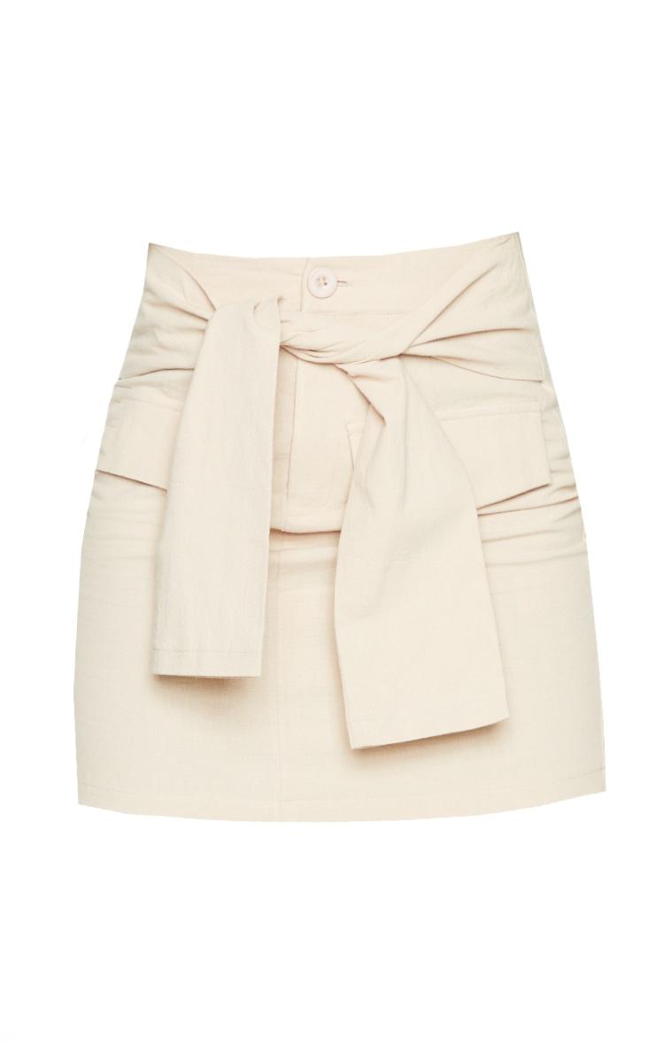 Stone Cargo Extreme Tie Mini Skirt 6