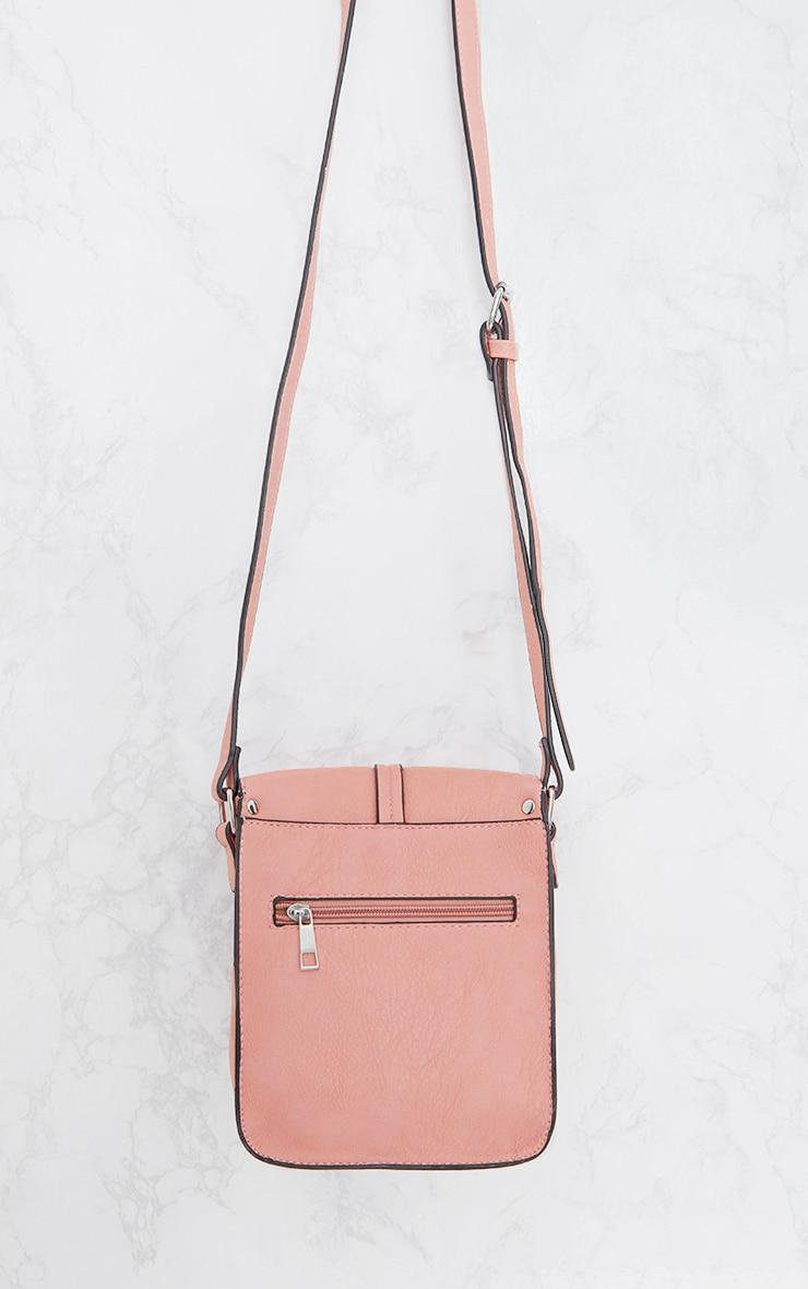 Light Pink Cross Body Strap Bag 4
