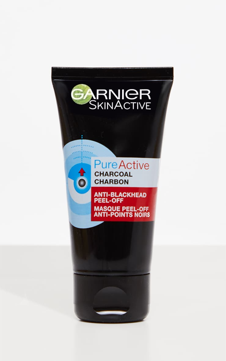 Garnier Pure Active Anti Blackhead Charcoal Peel Off Mask 1