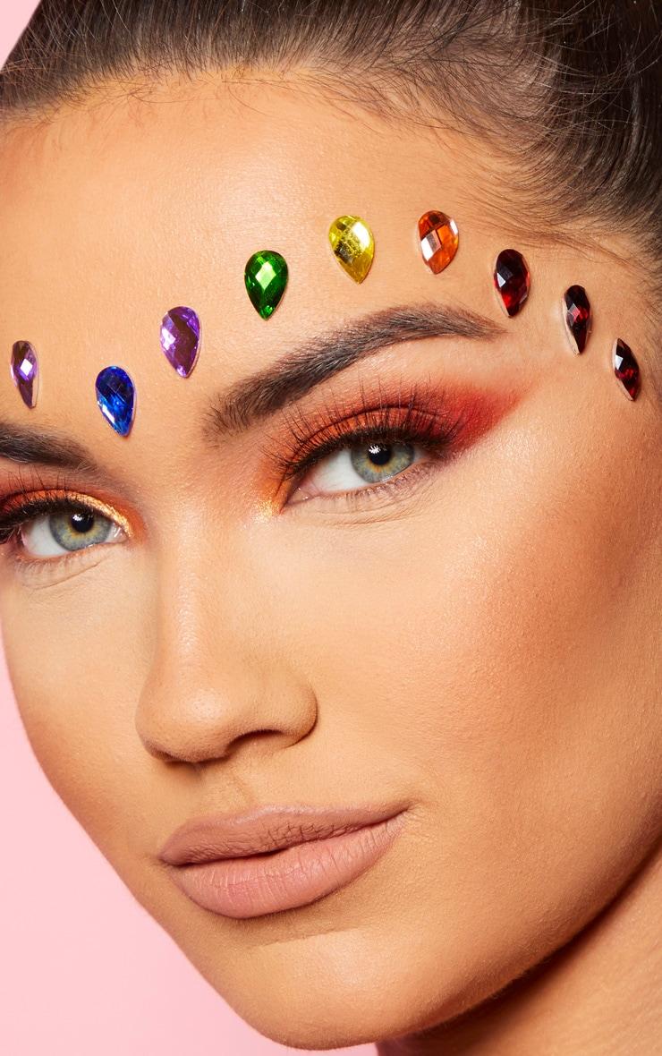 SHRINE Tear Drop Individual Jewels Rainbow 1