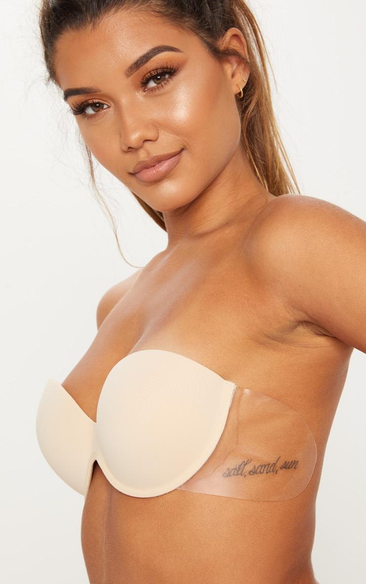 Winged Boost Nude Bra 2