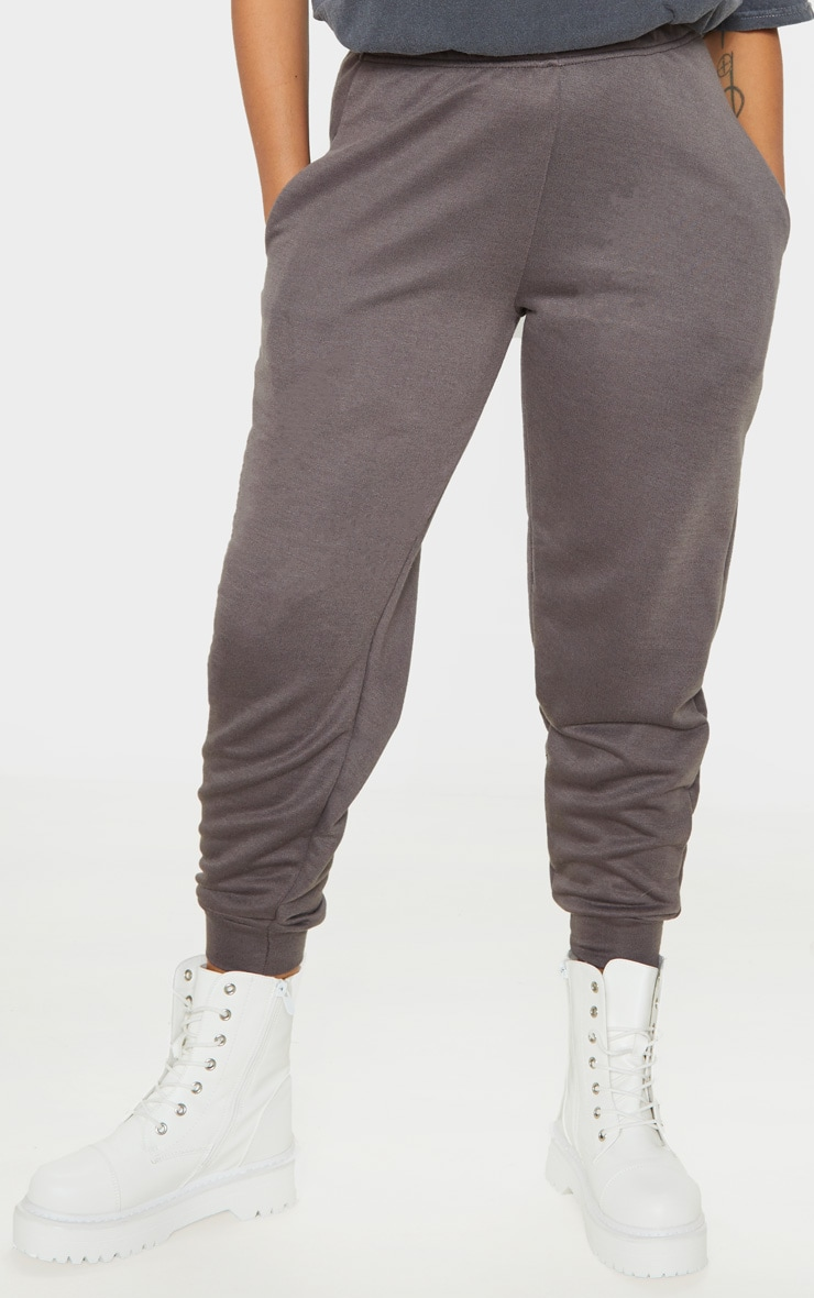 Petite Charcoal Casual Joggers 2