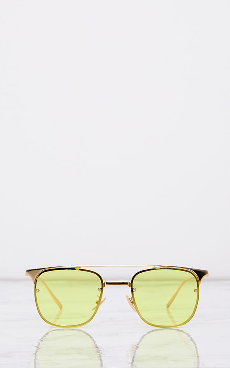 Torie Yellow Tinted Lens Glasses 2