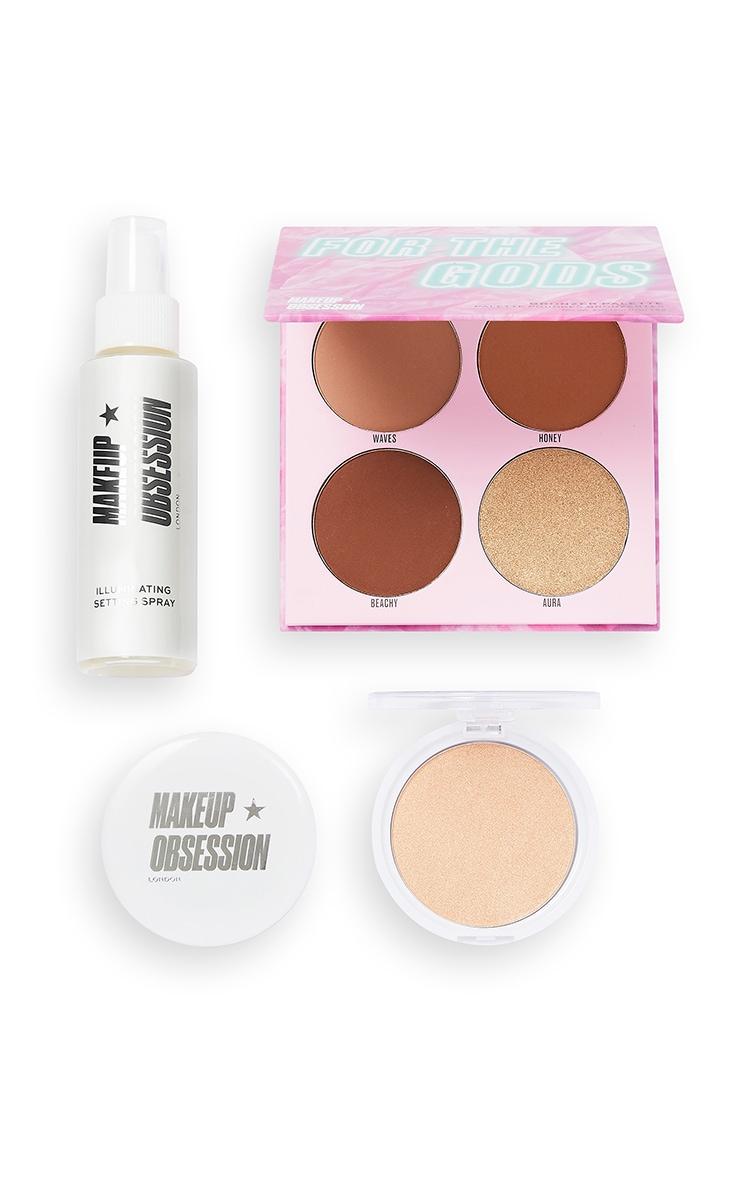 Makeup Obsession for The Gods Highlighter Gift Set 3