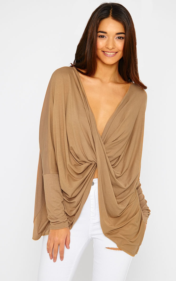 Miller Camel Twist front Top 1
