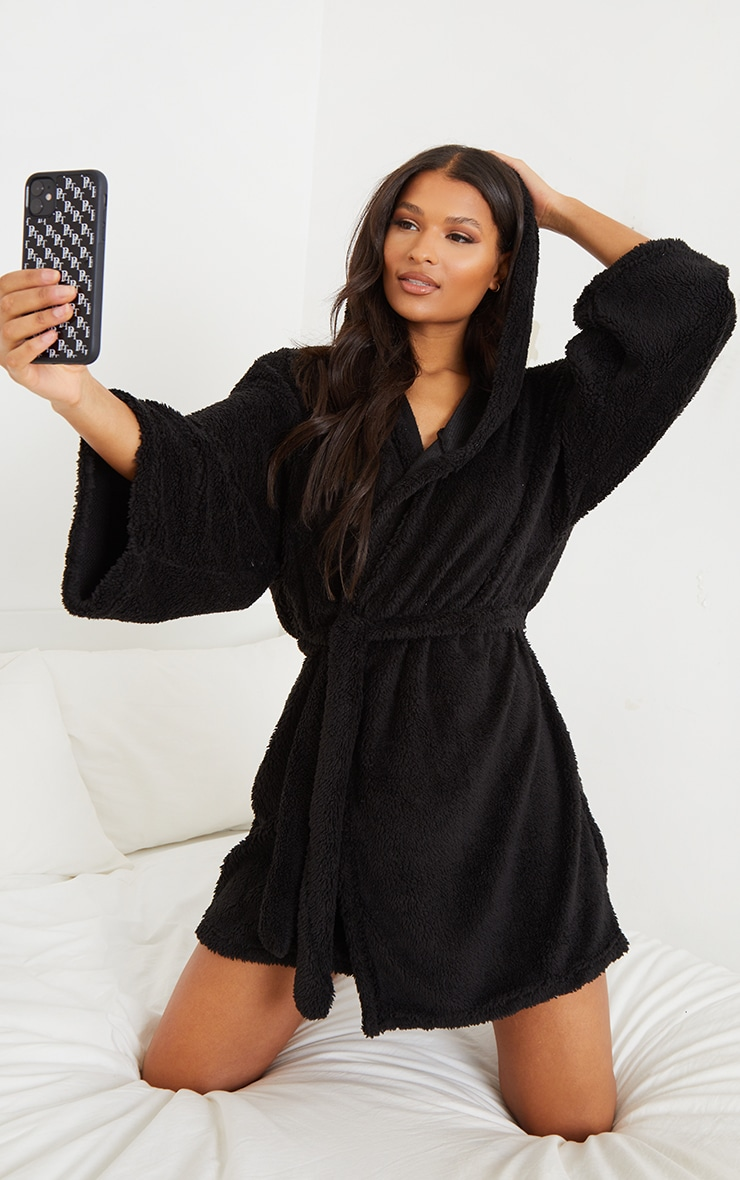 Black Borg Dressing Gown 1
