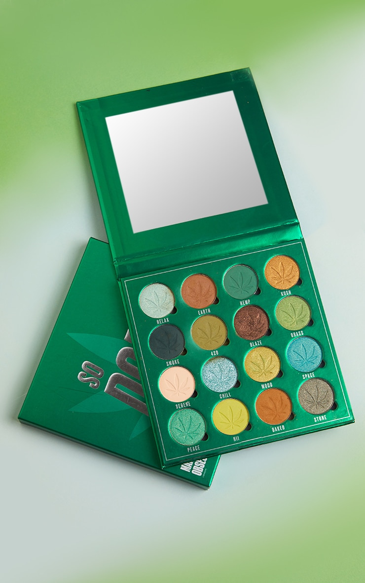 Makeup Obsession So Dope Shadow Palette with Cannabis Sativa 1
