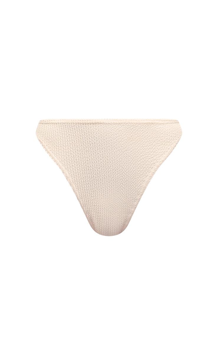 Stone Crinkle Ruched Bum Bikini Bottom 6