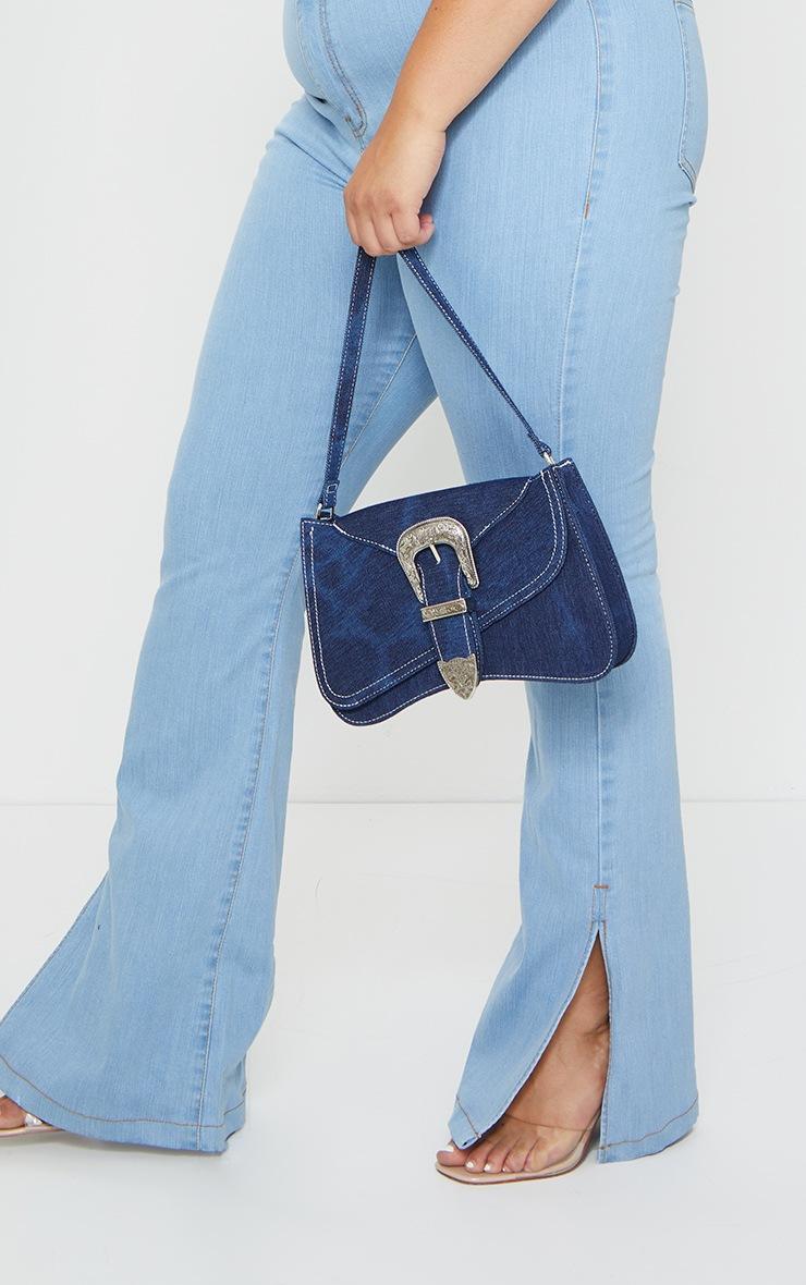 Plus Vintage Wash Knee Rip Flared Jean 4