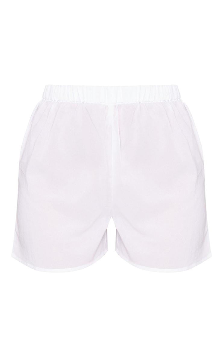 White Beach Shorts 6
