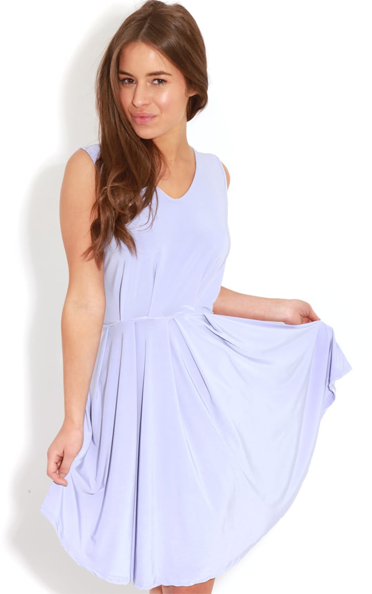 Anita Lilac Swing Dress 1