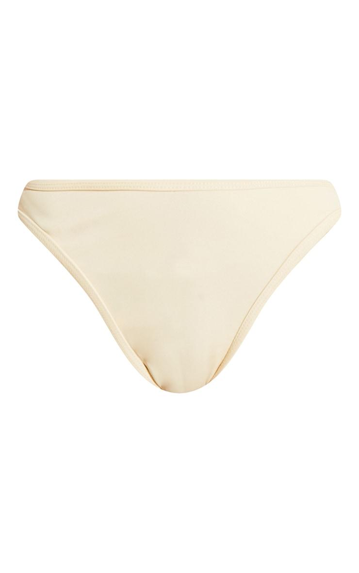 Cream High Leg Bikini Bottoms 5