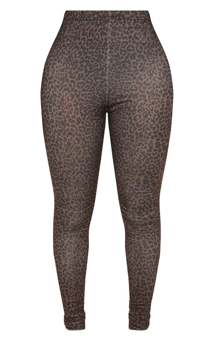 Shape Brown Leopard Legging  3