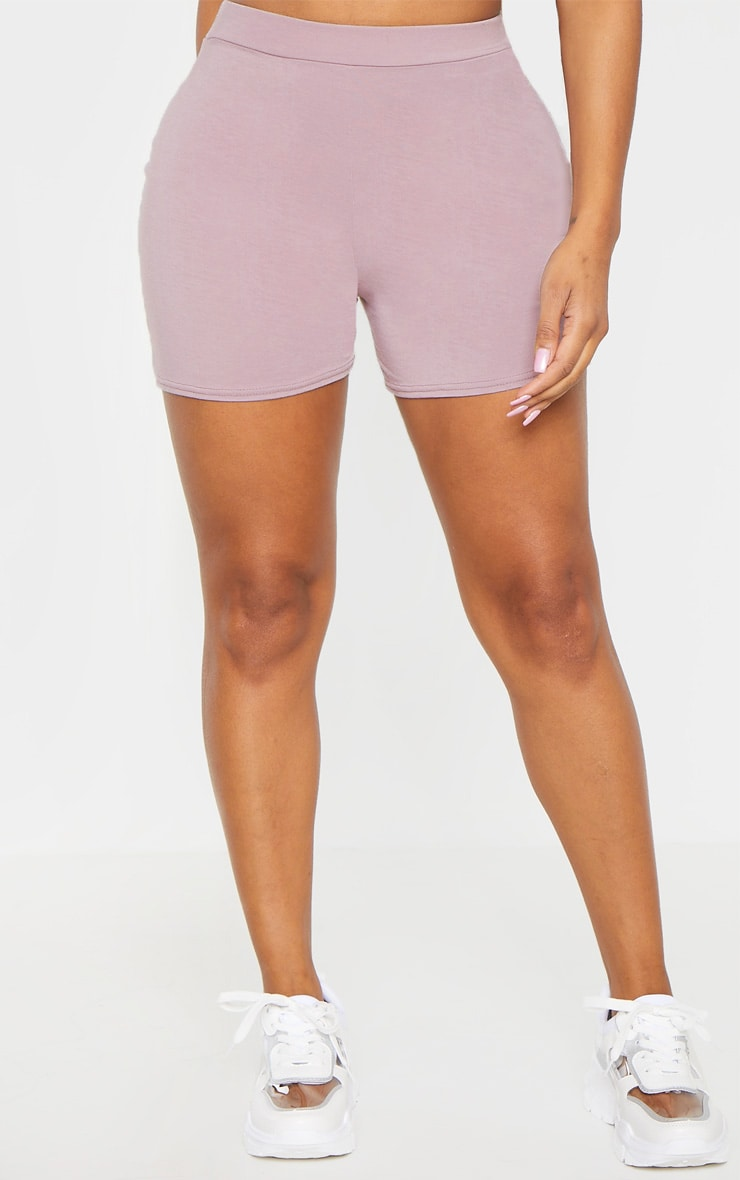Shape Violet High Waisted Jersey Shorts 2
