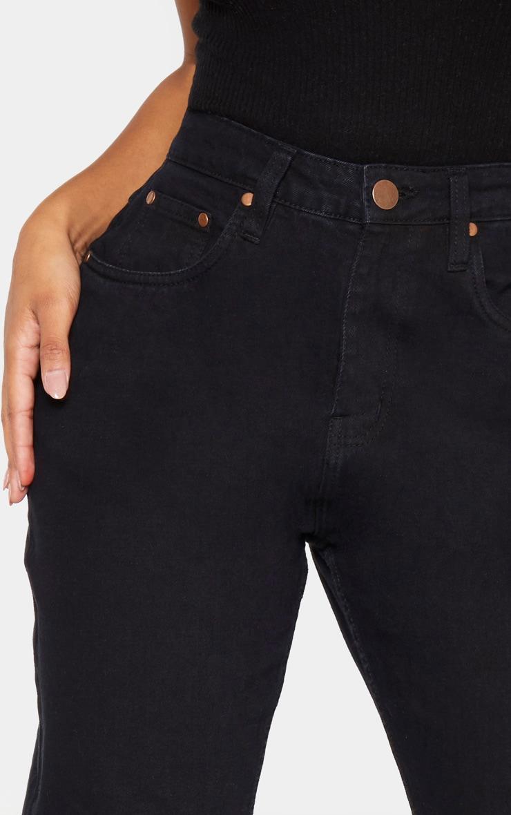 Shape Black High Waist Mom Jeans 5