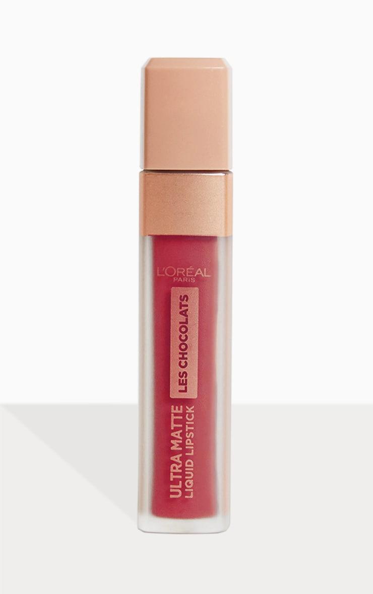 L'Oréal Paris Les Chocolats Ultra Matte Liquid Lipstick 868 Cacao Crush 1
