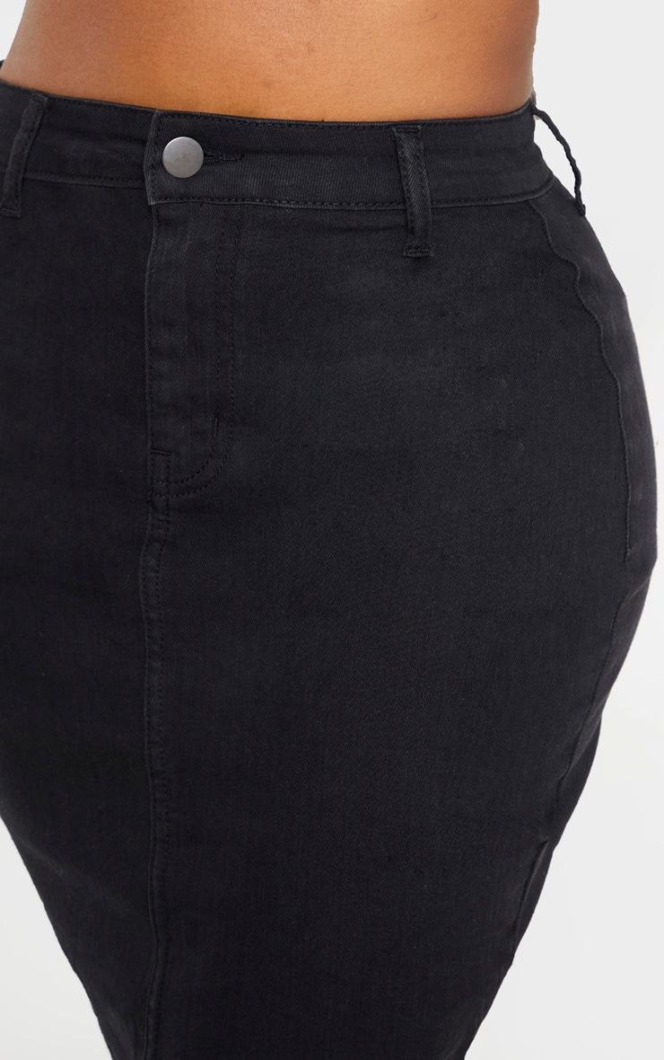Shape - Jupe moulante disco noire  5