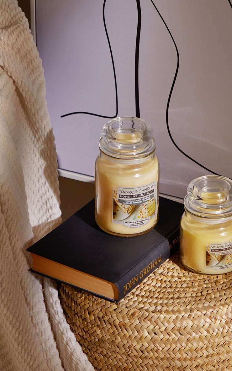Yankee Candle Home Inspiration Large Jar Vanilla Almond Frosting 1