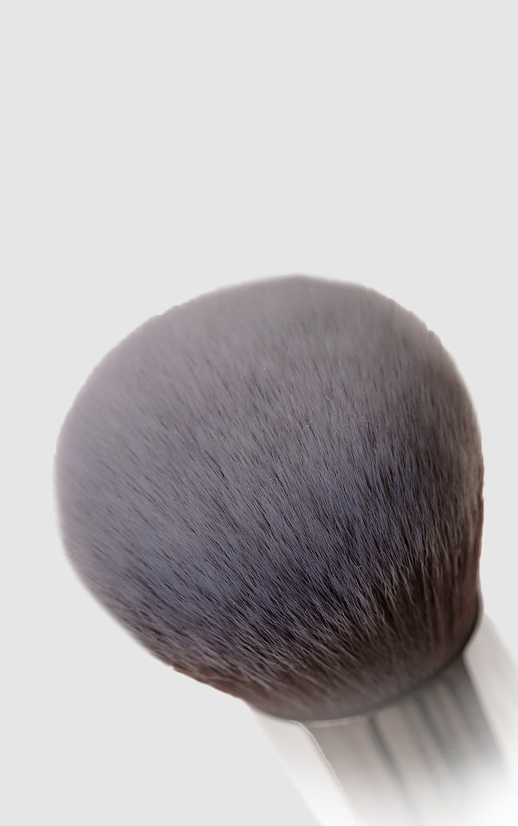 Nanshy Buffed Base Pearlescent White Round Brush 2