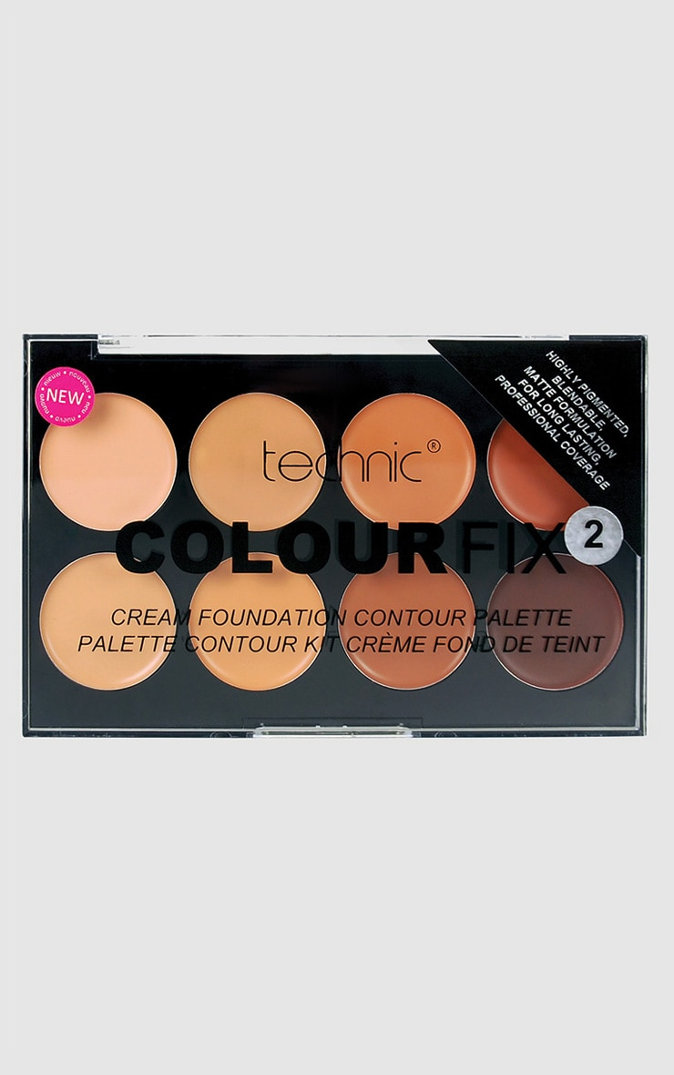 Technic Colourfix Cream Foundation Contour Palette 2 1