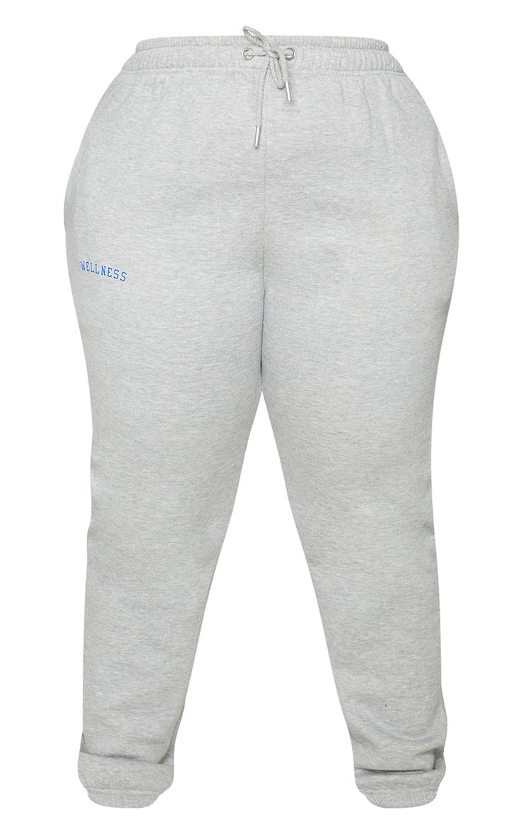 Plus Grey Wellness Sweat Joggers 5