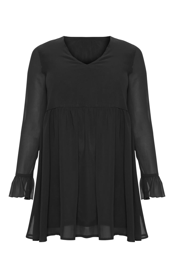 Petite Black Smock Dress 3