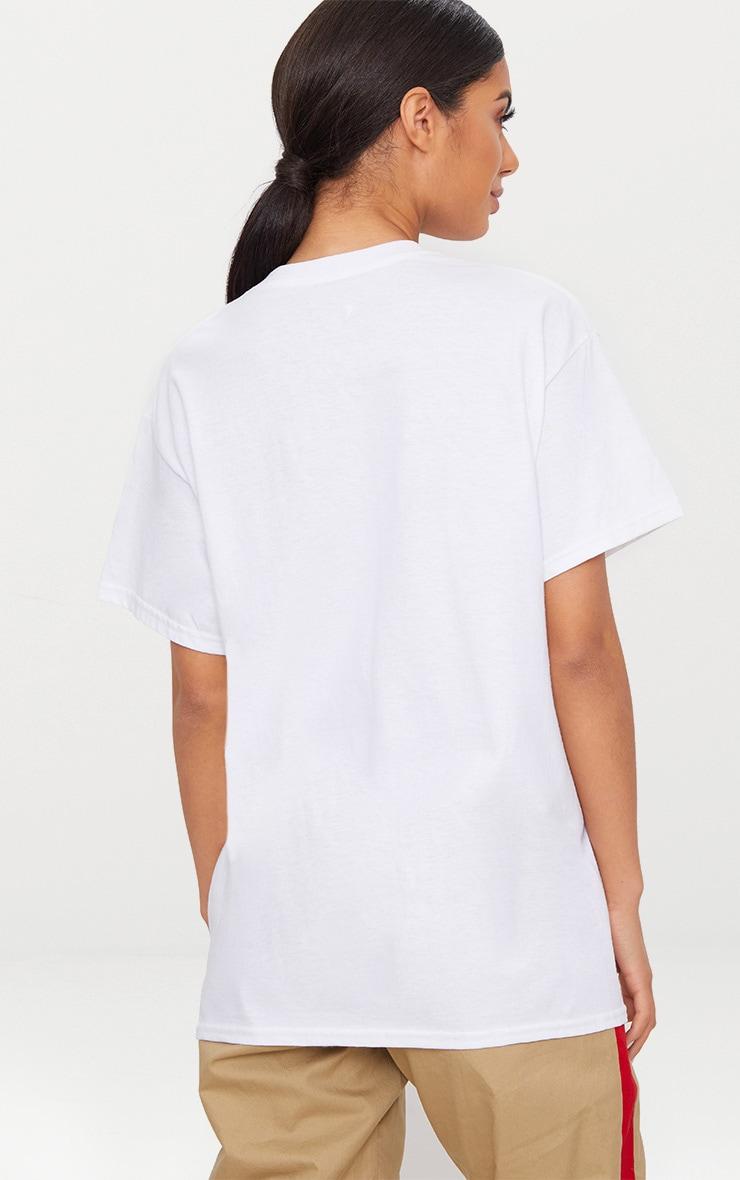 White Mojito Slogan Oversized T Shirt 2