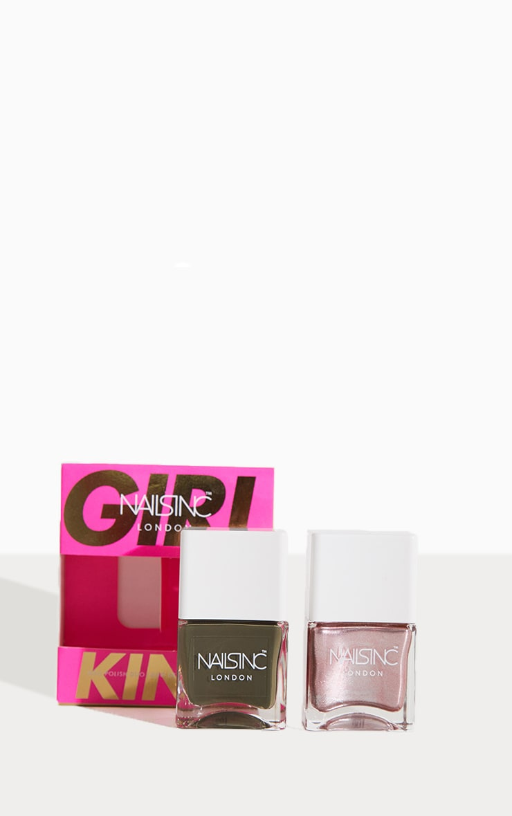 Nails Inc Sparkle Girl King Nail Polish Set