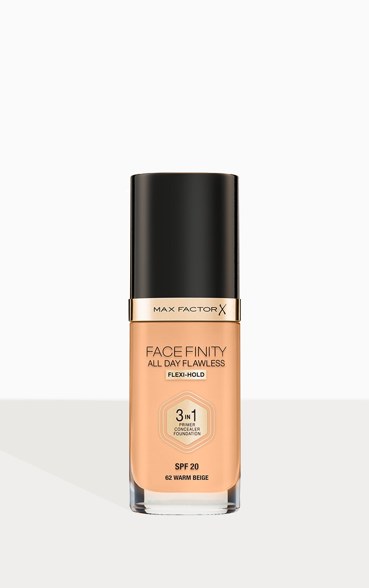 Max Factor Facefinity All Day Flawless Foundation Warm Beige 1