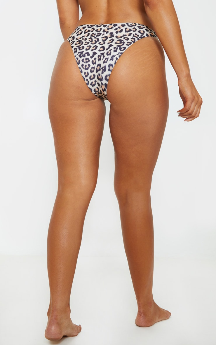 Leopard Mini Front Bikini Bottoms 4
