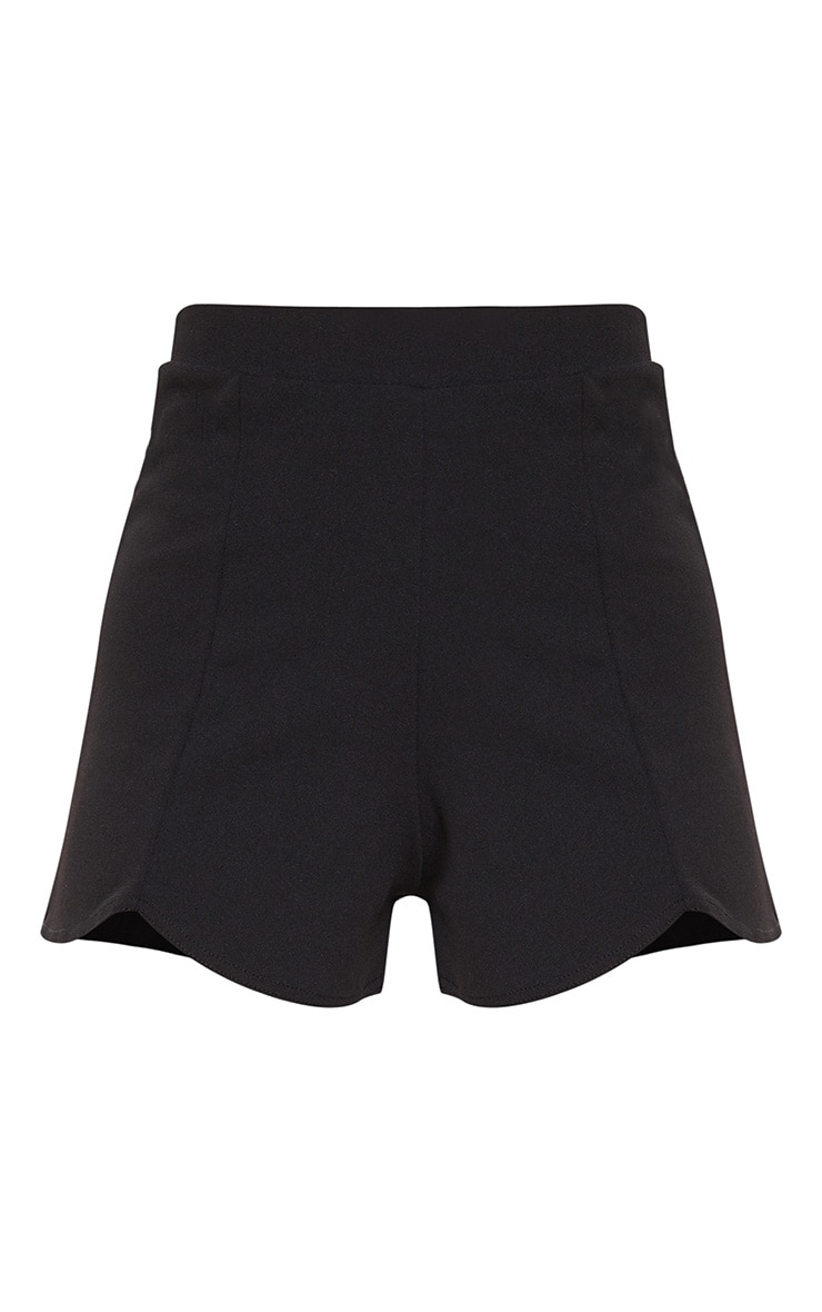 Black Curve Front Short 3