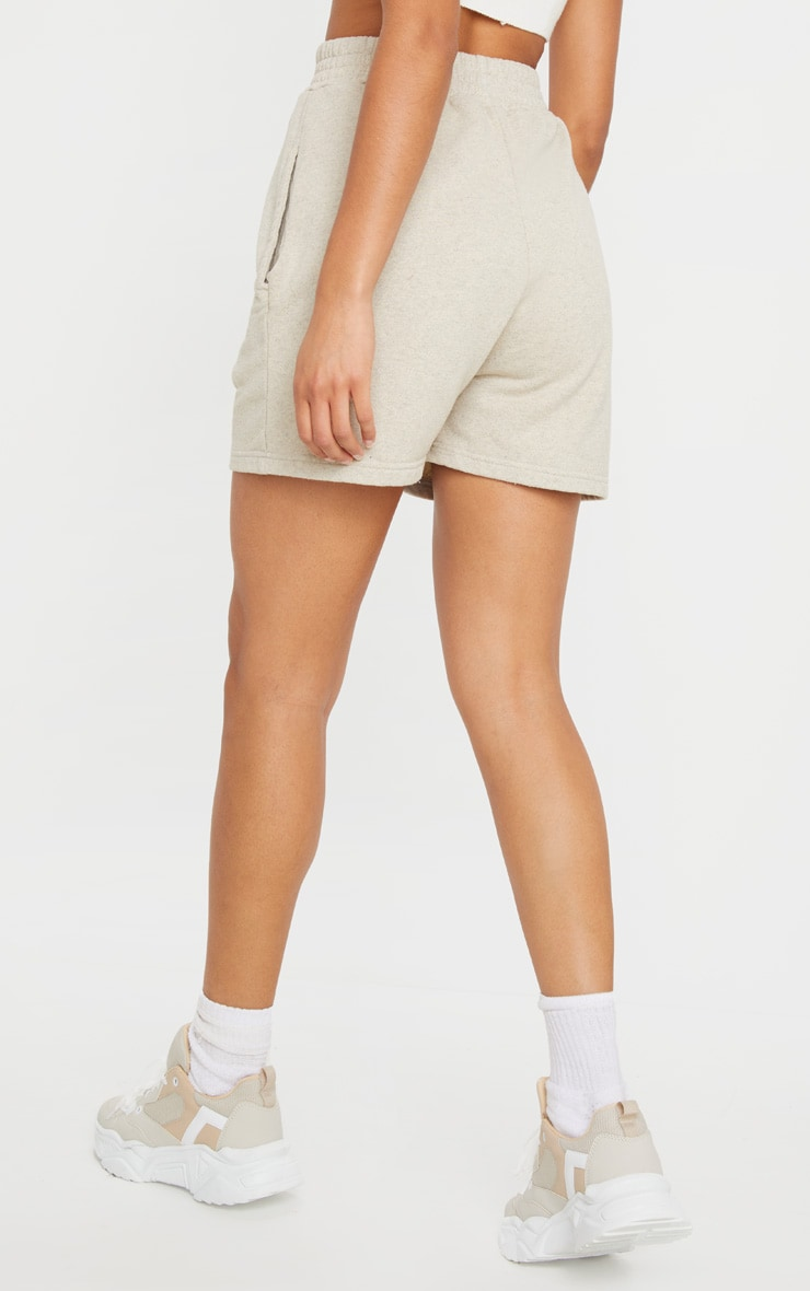 Oatmeal Sweat Pocket Shorts 3
